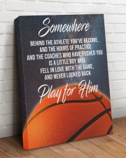 Play For Him Basketball Canvas Nhg07 20x24 Gallery Wrapped Canvas Prints aos-canvas-pgw-20x24-lifestyle-front-08