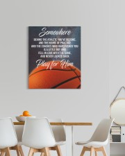 Play For Him Basketball Canvas Nhg07 20x24 Gallery Wrapped Canvas Prints aos-canvas-pgw-20x24-lifestyle-front-20