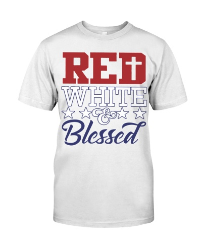Red White Blessed Nhg07