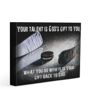 Your talent is God's Gift Hockey Canvas Nhg07 Gallery Wrapped Canvas Prints tile