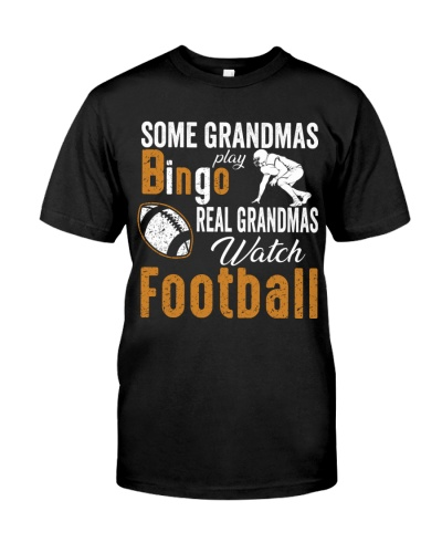 Real Grandmas Watch Football