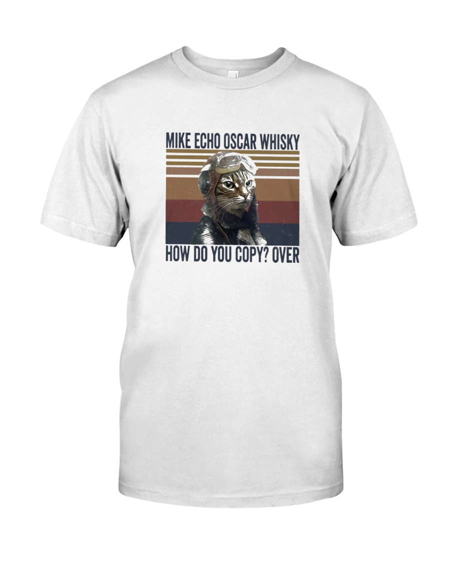 Pilot Mike Echo Oscar Whisky Classic T-Shirt