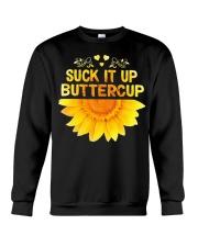 SUCK-IT-UP-BUTTERCUP-SUNFLOWER Crewneck Sweatshirt thumbnail