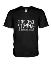Kindergarten Strong V-Neck T-Shirt thumbnail