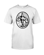 Orca Tribal Front Premium Fit Mens Tee front