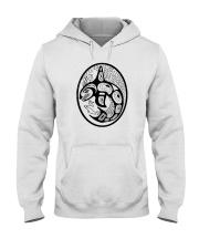 Orca Tribal Front Hooded Sweatshirt thumbnail