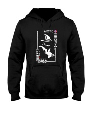 Arctic Freediving - Black Logos Front and Back Hooded Sweatshirt thumbnail