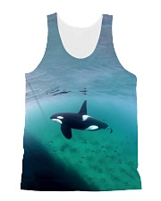 All over Orca Male Print All-over Unisex Tank thumbnail