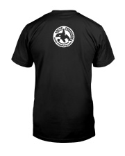 Orca Tribal Front White Premium Fit Mens Tee back