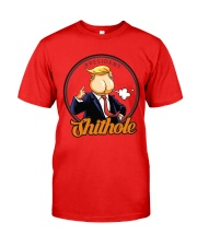 President Shithole - Limited Edition Merch Classic T-Shirt front