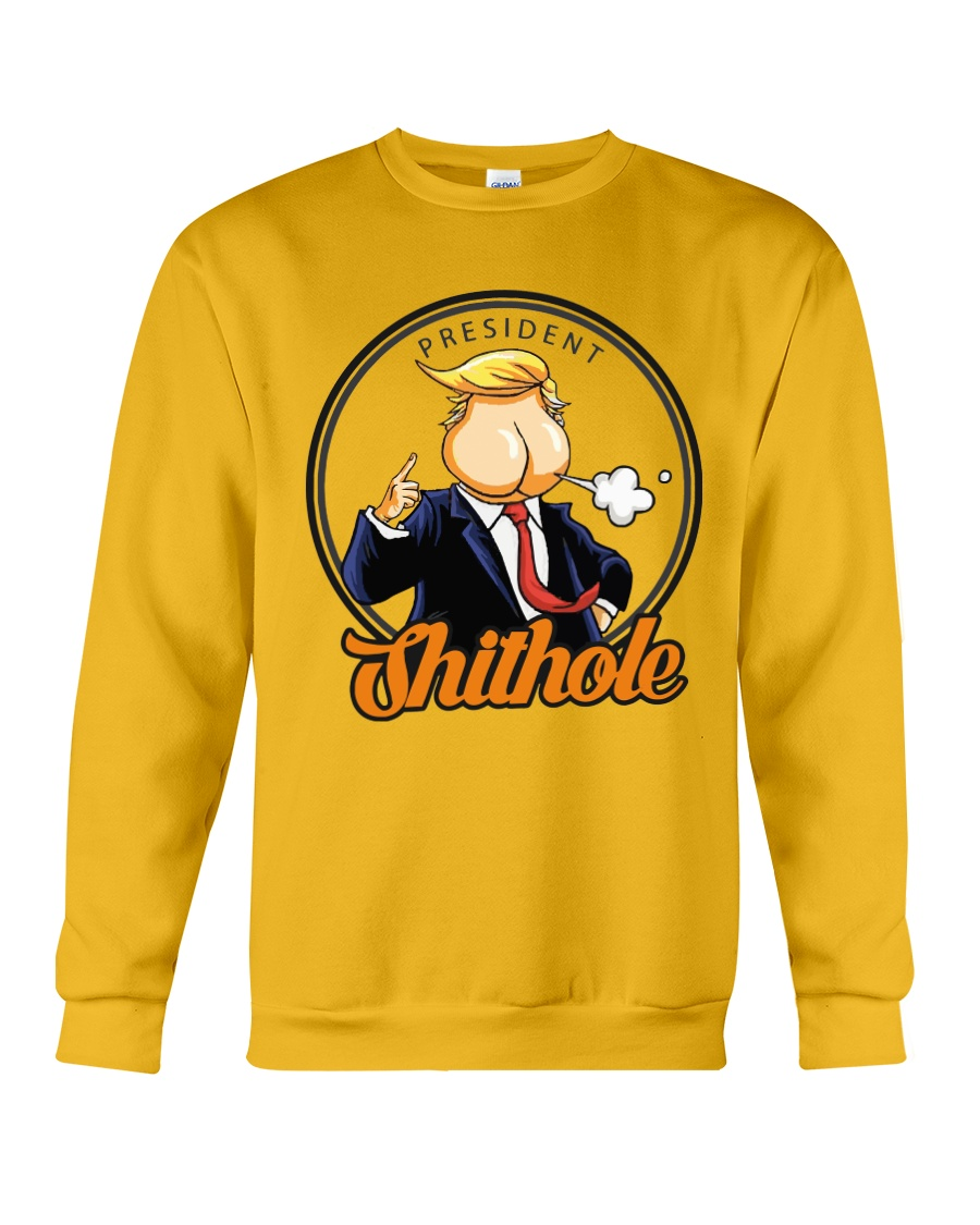 President Shithole - Limited Edition Merch Crewneck Sweatshirt