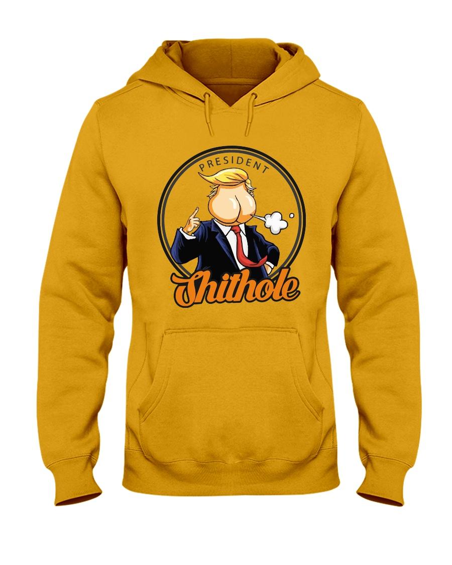 President Shithole - Limited Edition Merch Hooded Sweatshirt