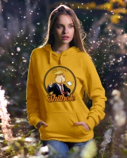 President Shithole - Limited Edition Merch Hooded Sweatshirt lifestyle-holiday-hoodie-front-5