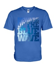 Beware Of The Blue Wave - Limited Edition Merch V-Neck T-Shirt front