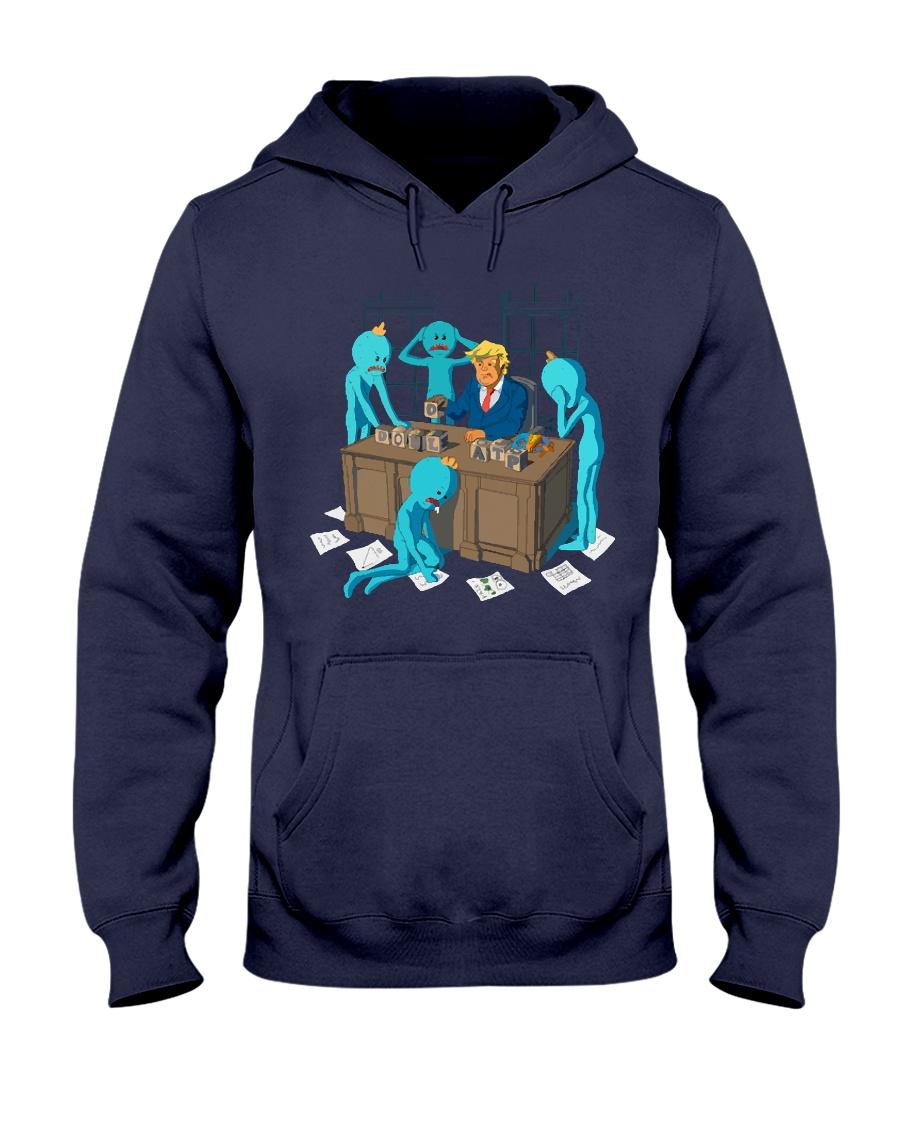 MESEEKS TRUMP - Limited Edition Merch Hooded Sweatshirt