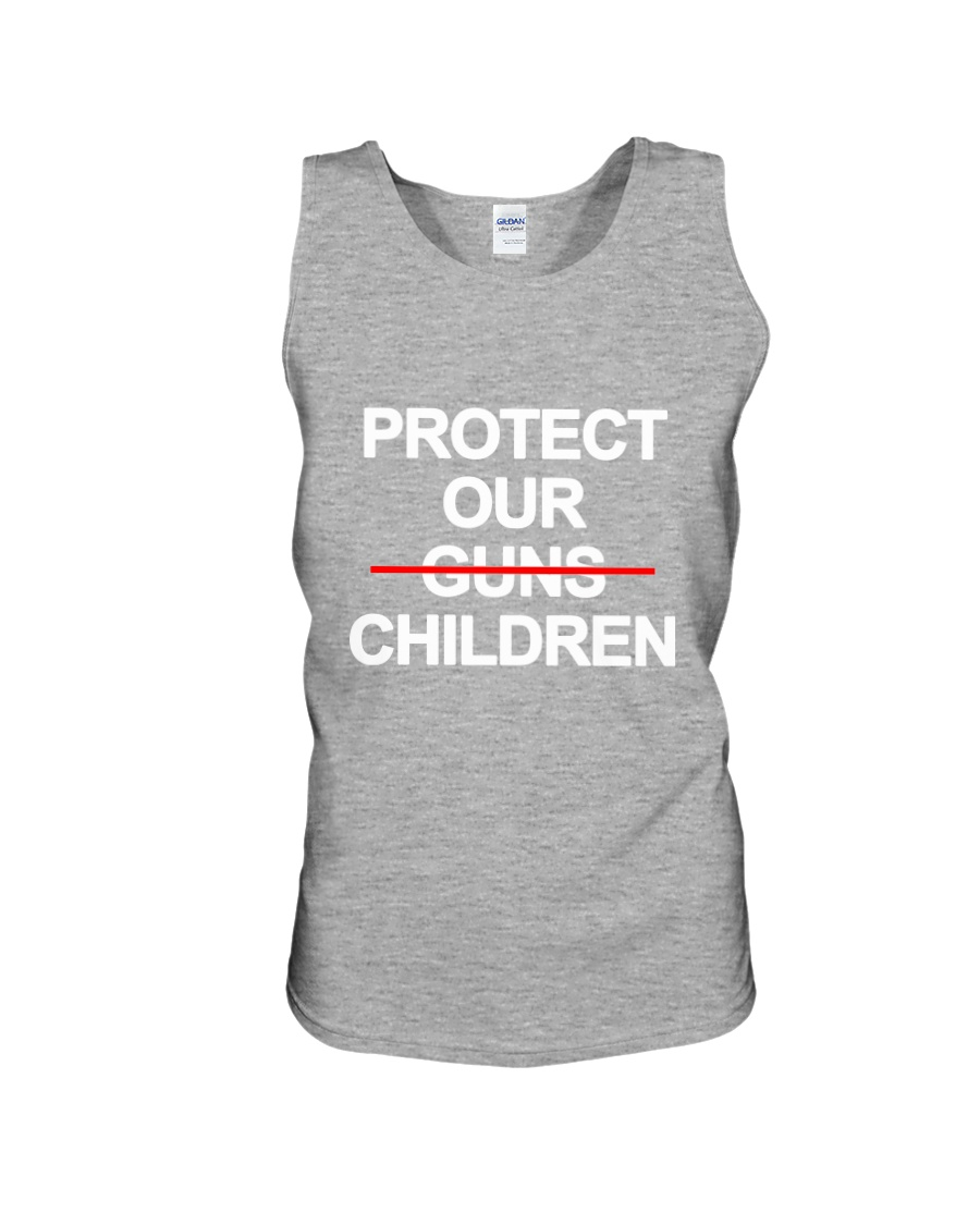 Protect Our Children - Limited Edition Merch Unisex Tank