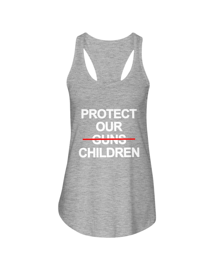 Protect Our Children - Limited Edition Merch Ladies Flowy Tank
