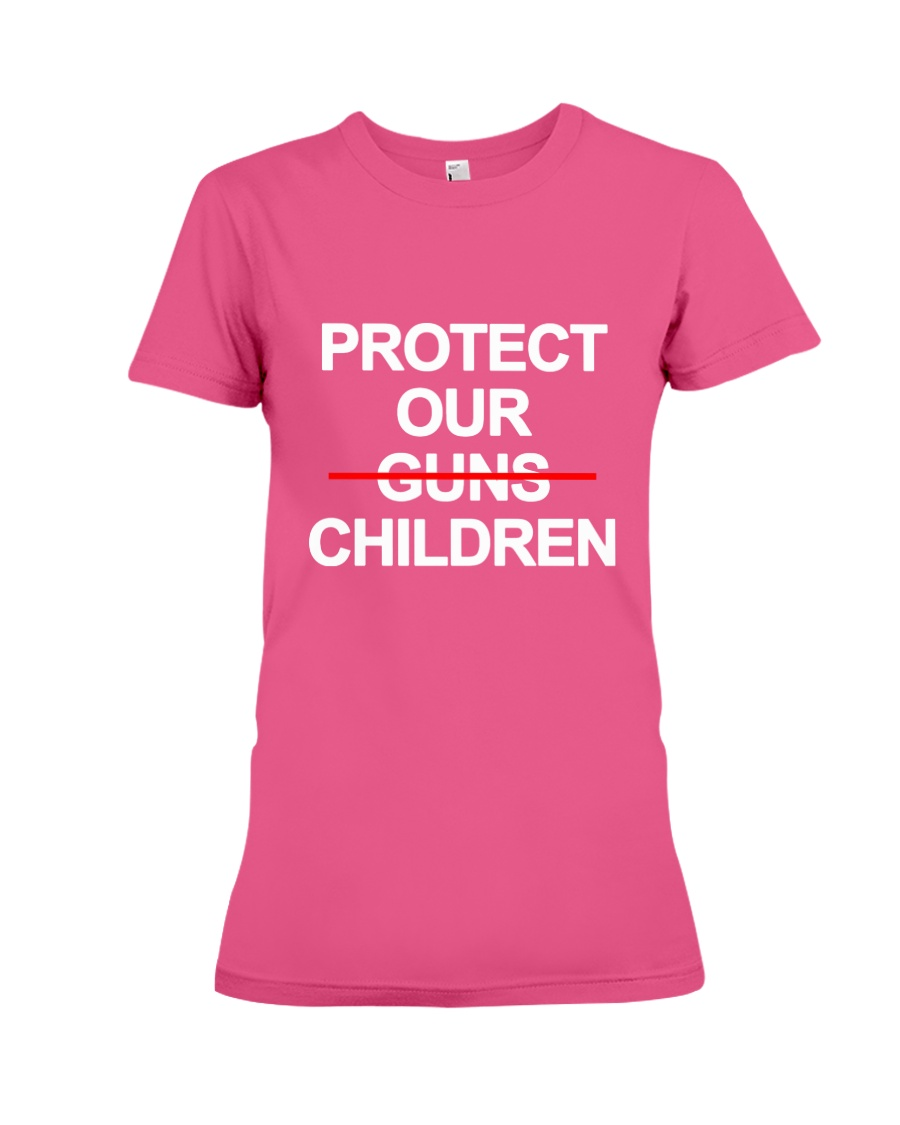 Protect Our Children - Limited Edition Merch Premium Fit Ladies Tee