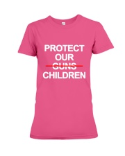 Protect Our Children - Limited Edition Merch Premium Fit Ladies Tee front