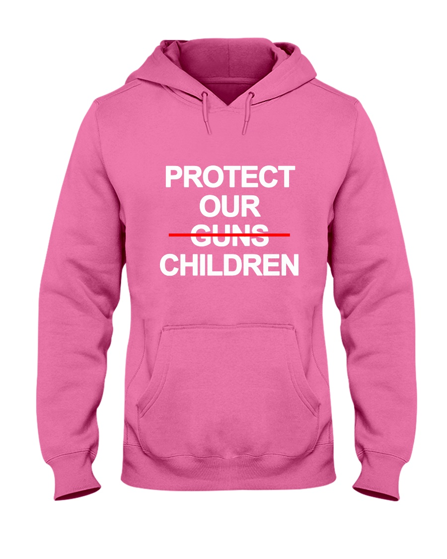 Protect Our Children - Limited Edition Merch Hooded Sweatshirt