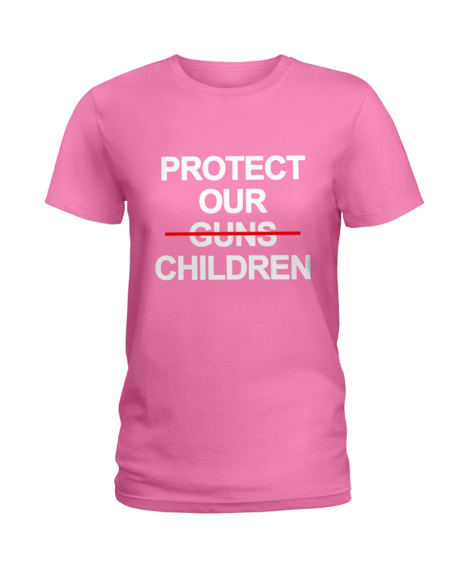 Protect Our Children - Limited Edition Merch Ladies T-Shirt