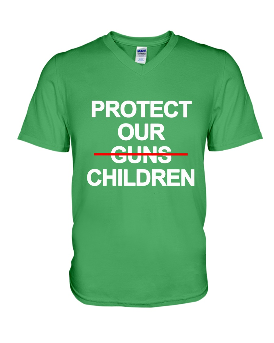 Protect Our Children - Limited Edition Merch V-Neck T-Shirt