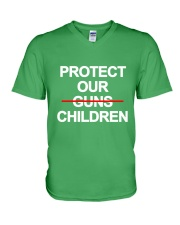 Protect Our Children - Limited Edition Merch V-Neck T-Shirt front