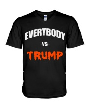 Everybody Vs Trump - Limited Edition Merch V-Neck T-Shirt tile