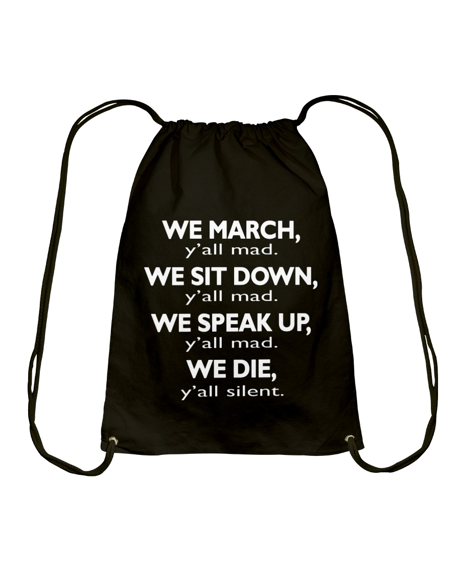 Y'all Mad - ONLY A FEW PIECES LEFT Drawstring Bag