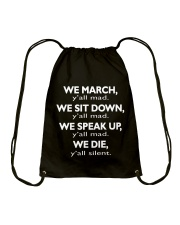 Y'all Mad - ONLY A FEW PIECES LEFT Drawstring Bag thumbnail