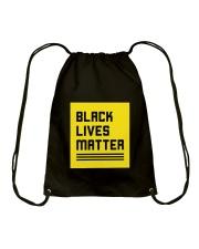 Black Lives Matter Drawstring Bag thumbnail