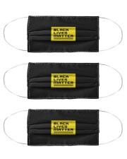 Black Lives Matter Cloth Face Mask - 3 Pack thumbnail