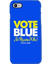 Vote Blue No Matter Who Phone Case tile