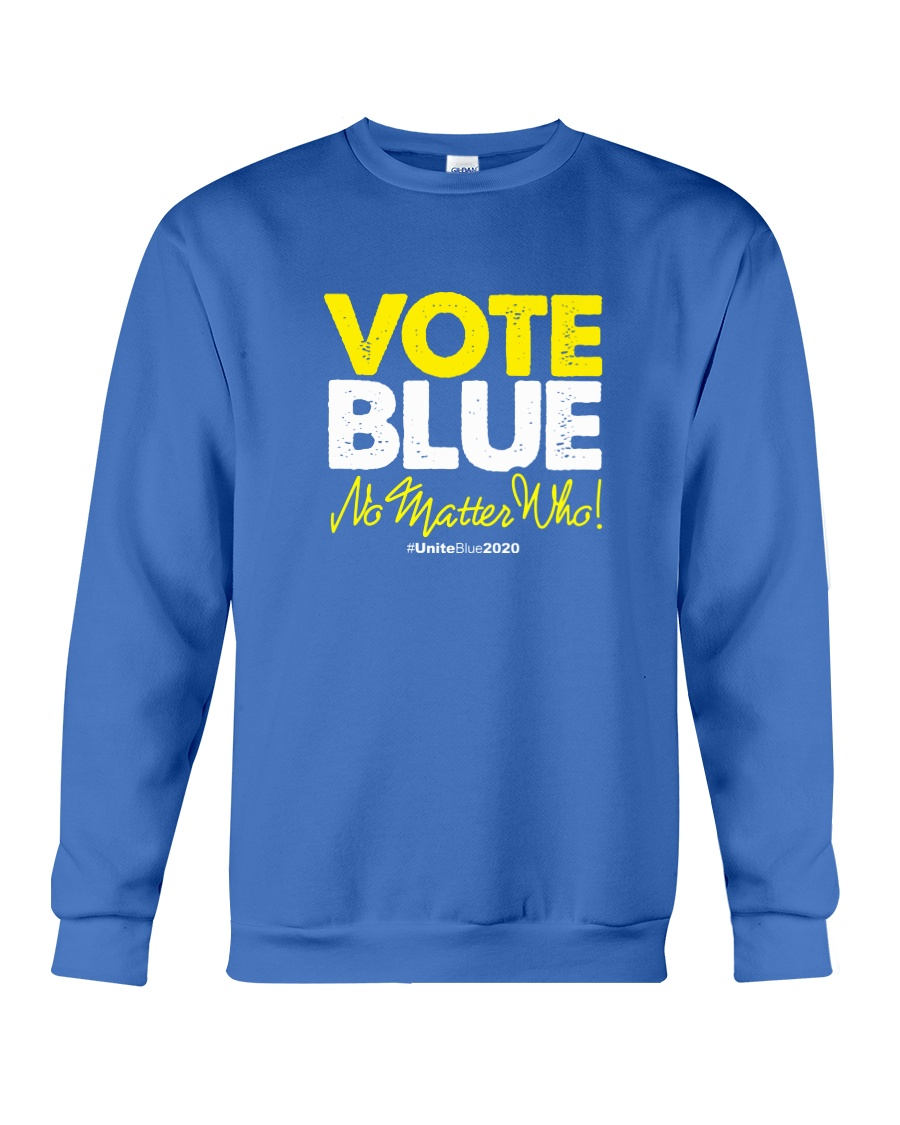 Vote Blue No Matter Who Crewneck Sweatshirt