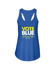Vote Blue No Matter Who Ladies Flowy Tank thumbnail