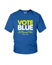 Vote Blue No Matter Who Youth T-Shirt tile