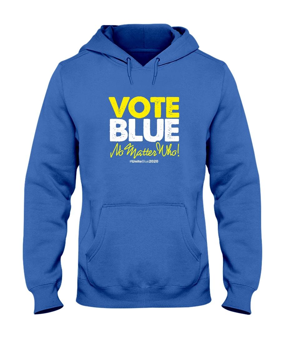 Vote Blue No Matter Who Hooded Sweatshirt