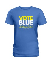 Vote Blue No Matter Who Ladies T-Shirt tile