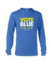 Vote Blue No Matter Who Long Sleeve Tee front