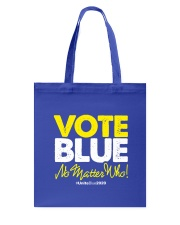 Vote Blue No Matter Who Tote Bag tile