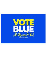 Vote Blue No Matter Who Horizontal Poster tile