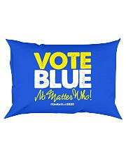 Vote Blue No Matter Who Rectangular Pillowcase front