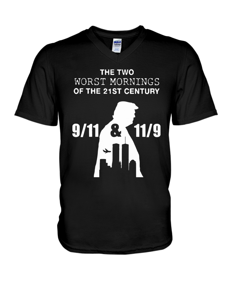 Two Worst Mornings - Limited Edition Merch V-Neck T-Shirt