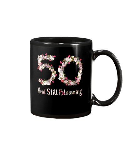 50th Birthday Shirt Gift Ideas For Women Blooming