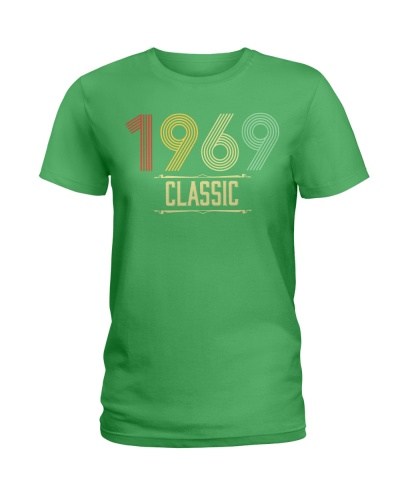 Birthday Shirt Gift Ideas for Women Classic 1969