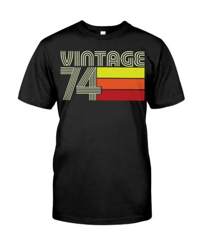 Birthday Shirt Gift Ideas for Men Vintage 1974