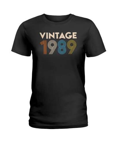 Birthday Shirt Gift Ideas for Women Vintage 1989