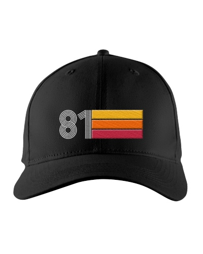 Birthday Cap Gift Ideas for Men Vintage 1981