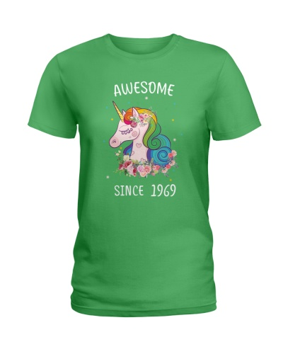 Birthday Shirt Gift Ideas for Women Awesome 1969