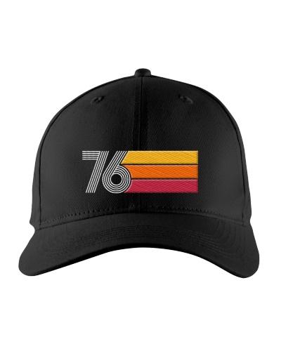 43th Birthday Cap Gift Ideas for Men Vintage 1976